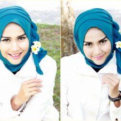 Tutorial Cara Memakai Hijab Segitiga Simple yang Benar