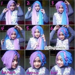 Tips dan Cara Memakai Hijab Pashmina yang Simple dan Nyaman